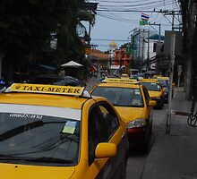 Taxi in Koh Samui by Sherion