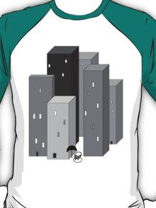 RAIN MAN VERSUS SKYSCRAPERS T-Shirt