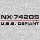 ST Registry Series - Defiant Logo by Christopher Bunye