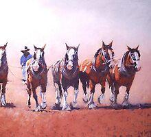 Through The Dust  by Lyn Green