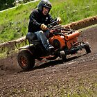 Drifting on a Mower by trussphoto