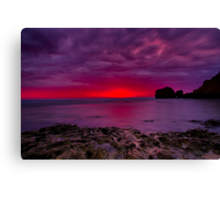 """""""Rocky Point Dawning"""" Canvas Print"""