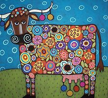 Blooming Cow by karlagerard