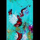 Dragon Within Left panel for iphone by Cate Townsend