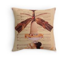 in dulci jubilo Throw Pillow