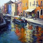 A view of Burano (Venice) by Ivana Pinaffo