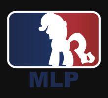 Major League Pony (MLP) - Rarity by phyrjc2