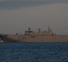 Return to Port - Juan Carlos I (L61)  by fototaker