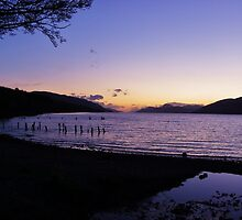 Loch Ness sunset by caledoniadreamn
