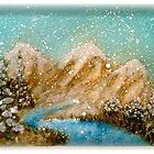 Winter in the Rockies by Pamela Hubbard