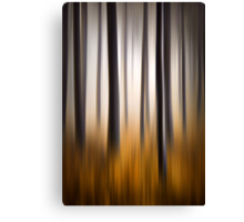 Forest Essence - Autumn Landscape Vertical Panning Canvas Print