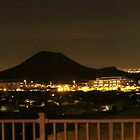 Scottsdale Arizona at night time by elisab