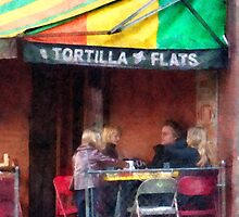 Tortilla Flats Greenwich Village by Susan Savad