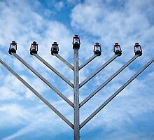 Menorah at Boston Common by Kellypix