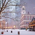 Faneuil Hall in Snow by Kellypix