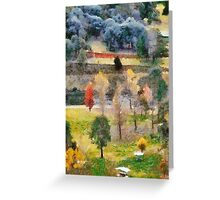 Picnic Spot Greeting Card