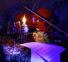 violin and wine (Canon 60D) by FrankSchmidt
