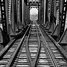 Franklin Ohio railway bridge 1  by Jason Franklin