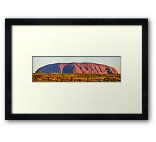 Ayers Rock, Uluru, Panorama Framed Print
