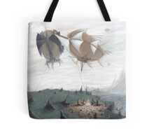 Shadow, Mist, and Stone Tote Bag
