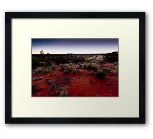 The Olgas, Kata Tjuta Sunset, Australia Framed Print