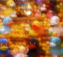 Fuzzy Ducks by Sammy Nuttall