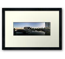 Melbourne Docklands Sunrise Framed Print