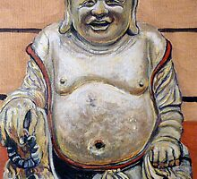 Happy Buddha by Tom Roderick