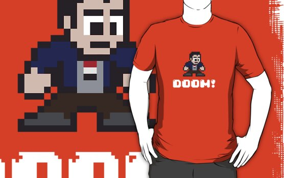 You on a Tee! Doom! by SevenHundred