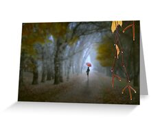 A Day In November Greeting Card