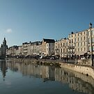 La Rochelle in October by Pamela Jayne Smith