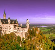 Neuschwanstein Castle by Stanley Tjhie