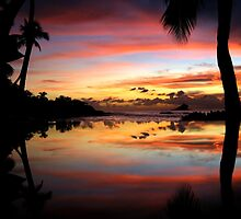 Carribean Sunset by Garry Copeland
