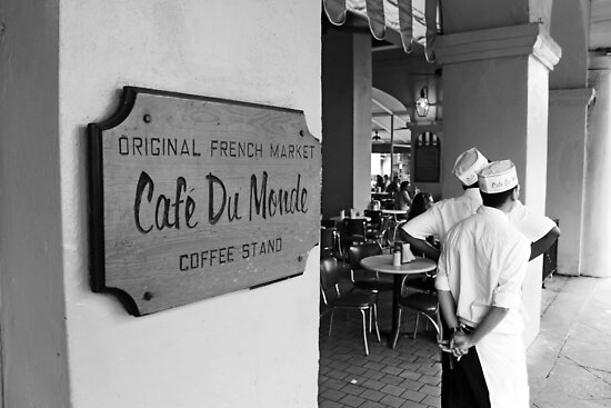 Cafe Du Monde, New Orleans by Jeff Newell