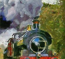 Locomotive à vapeur  by buttonpresser
