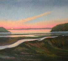 Sea Roads - Sunrise by ltalbot