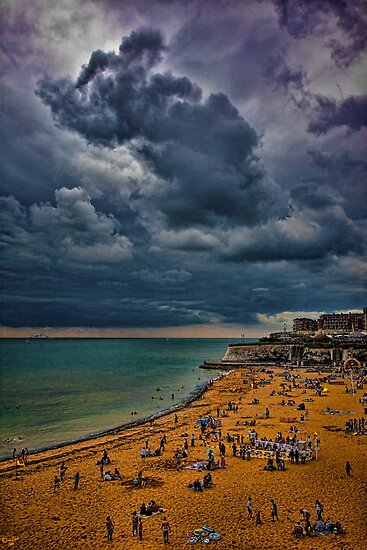 Broadstairs, August 2010, A Typical English Summer's Day by Chris Lord