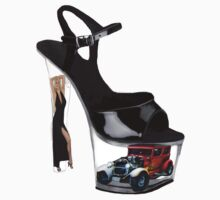 *•.¸♥♥¸.•* Hot Wheels In High Heels Steppen Out Girls Tee Shirt *•.¸♥♥¸.•* by ╰⊰✿ℒᵒᶹᵉ Bonita✿⊱╮ Lalonde✿⊱╮