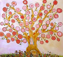Cherry Tree Party by Johanna Wright
