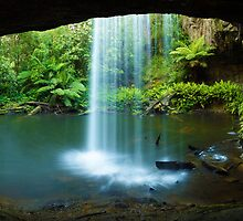 Kalimna Falls, Otways National Park, Australia by Michael Boniwell