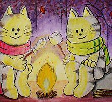 Chilly Night by Rie Kaminsky