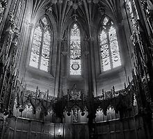 Thistle Chapel, St Giles Cathedral, Edinbrugh by SteveGraham43