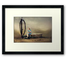 Janet... Lovely lady from North West, South Africa...  Framed Print