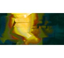 Like a light in the midst of night Photographic Print