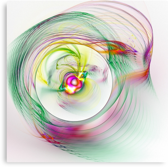 Swirling Twirling Whirling Colours by Benedikt Amrhein