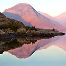 Wasdale Lake  ~ January 2010 by Jan Fialkowski