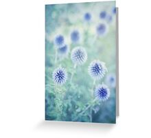thistle dreams Greeting Card
