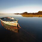 An Old Boat at Ile Lameque, New-Brunswick by EdgarAndre