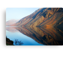 Wasdale Lake Screes 4 ~ January 2010 Canvas Print