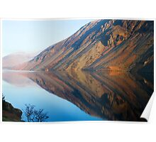 Wasdale Lake Screes 4 ~ January 2010 Poster